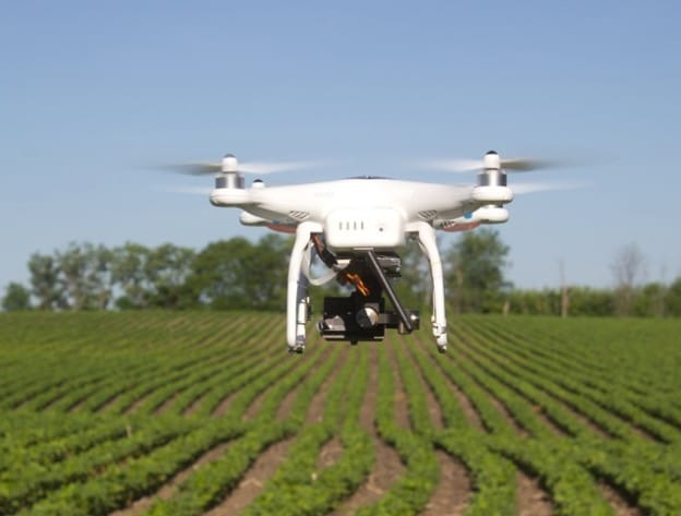 agriculture drones take off