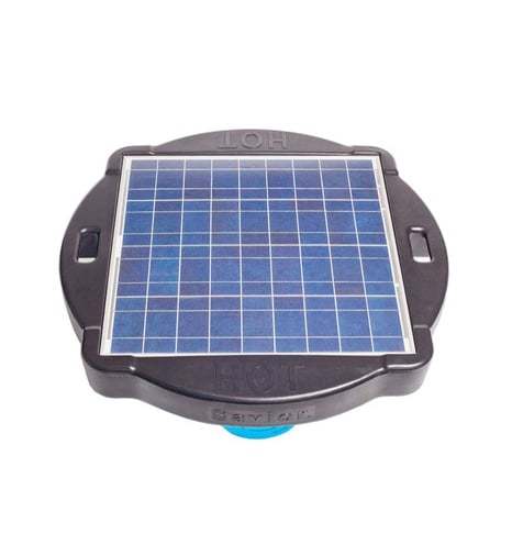 solar pool cleaner natural current