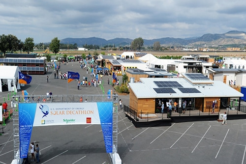 Solar power Decathlon